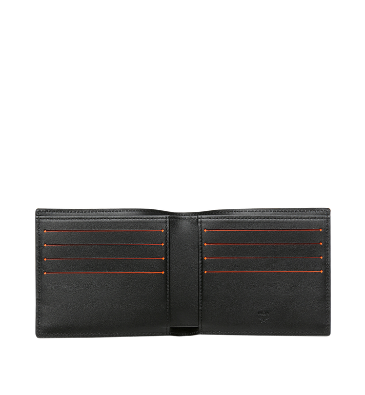 MCM Bifold Wallet in Logo Print Leather Alternate View 4