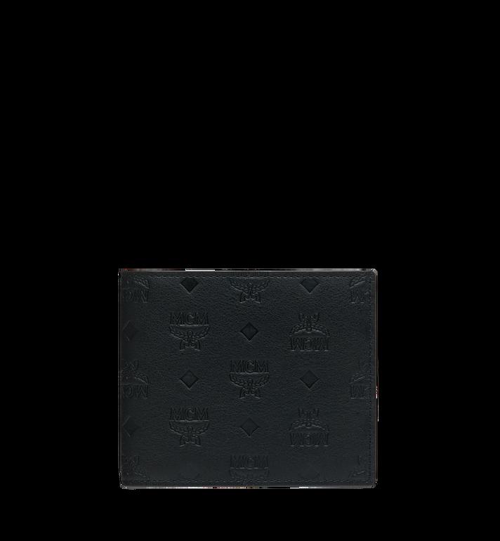 MCM Bifold Wallet in Monogram Leather MXS9SKM45BK001 AlternateView