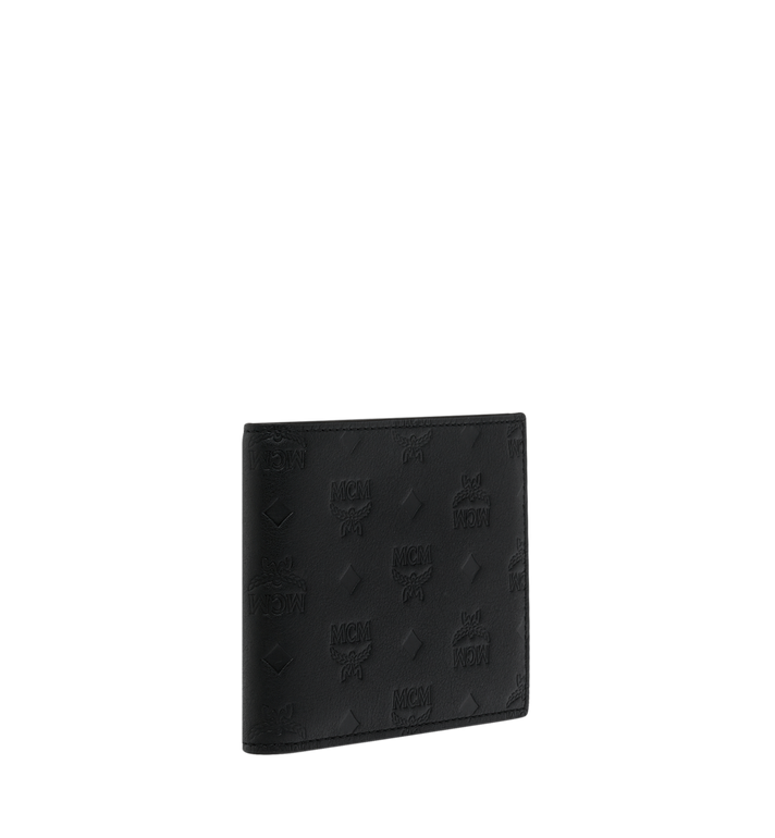 MCM Bifold Wallet in Monogram Leather MXS9SKM45BK001 AlternateView2