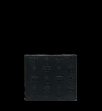 MCM Bifold Wallet in Monogram Leather MXS9SKM45BK001 AlternateView3