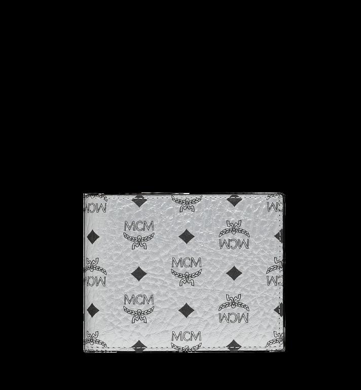 MCM Bifold with Card Case in Visetos Original MXS9SVI35SB001 AlternateView