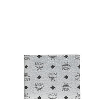 MCM Bifold with Card Case in Visetos Original Alternate View