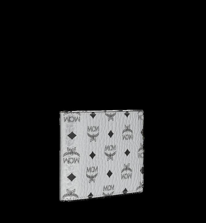 MCM Gefaltet mit Kartenfach in Visetos Original Silver MXS9SVI35SB001 Alternate View 2