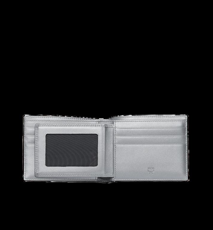 MCM Gefaltet mit Kartenfach in Visetos Original Silver MXS9SVI35SB001 Alternate View 4