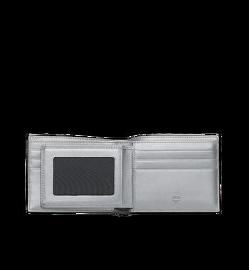 MCM Bifold with Card Case in Visetos Original Alternate View 4