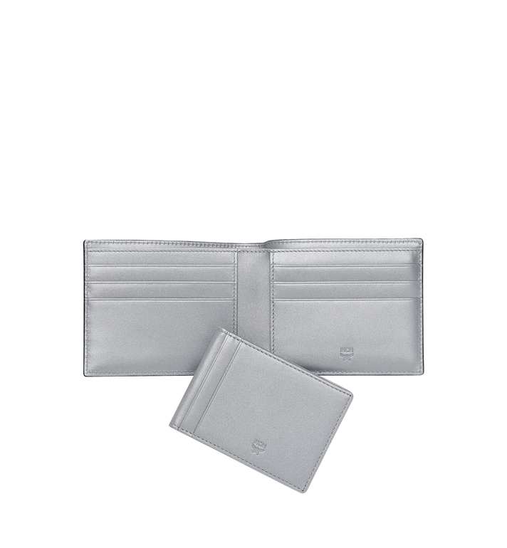MCM Bifold with Card Case in Visetos Original MXS9SVI35SB001 AlternateView5
