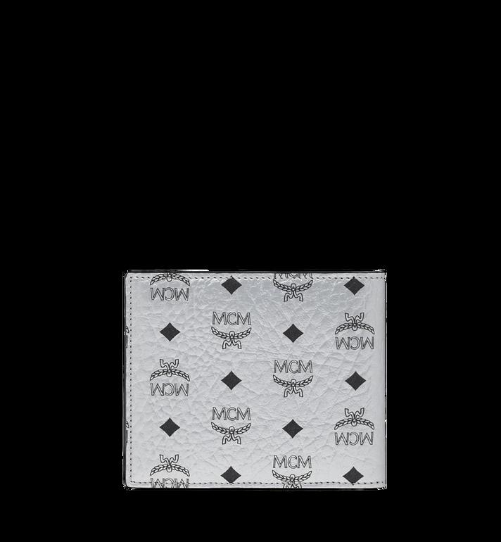 MCM Bifold Wallet in Visetos Original MXS9SVI63SB001 AlternateView3