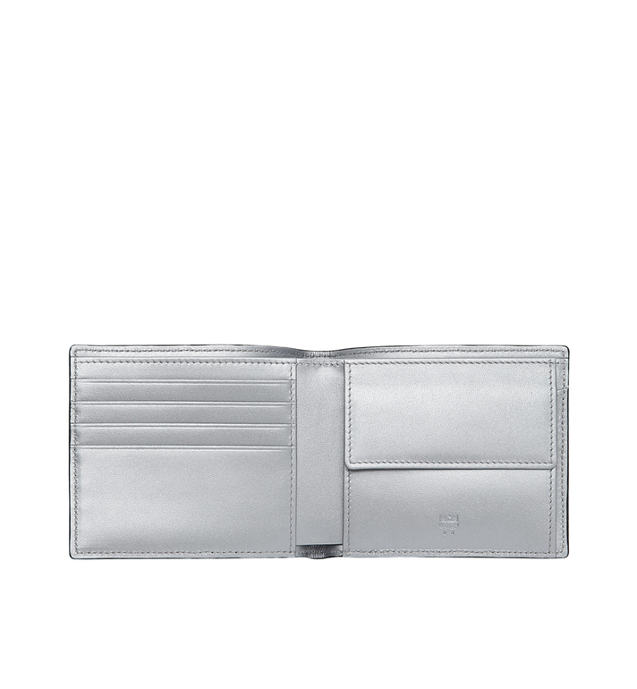MCM Bifold Coin Wallet in Visetos Original Alternate View 4