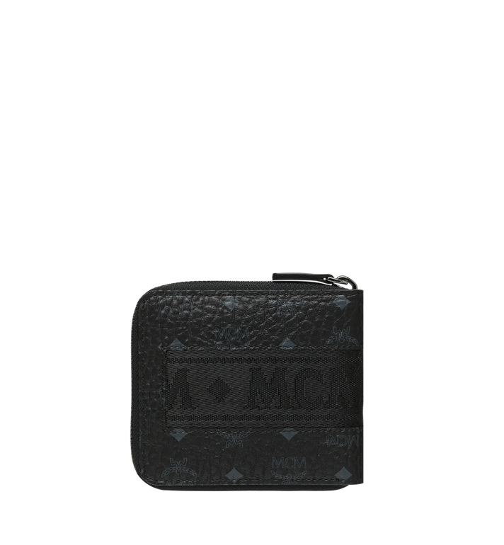 MCM Zip Around Wallet in Webbing Visetos MXS9SVI90BK001 AlternateView3