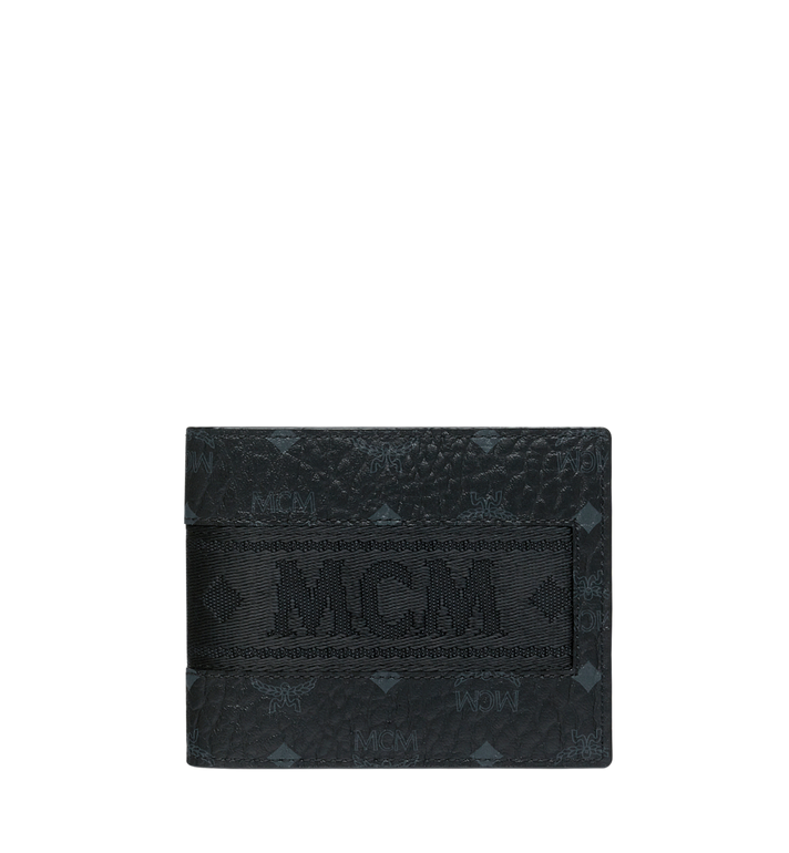 MCM Bifold with Card Case in Webbing Visetos Alternate View