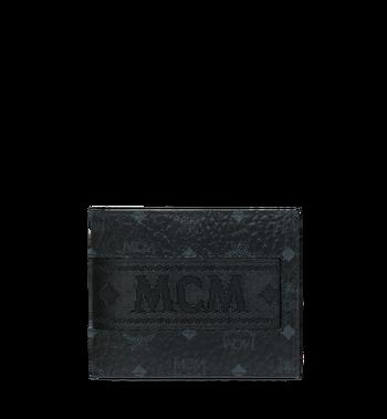 MCM Bifold with Card Case in Webbing Visetos Alternate View