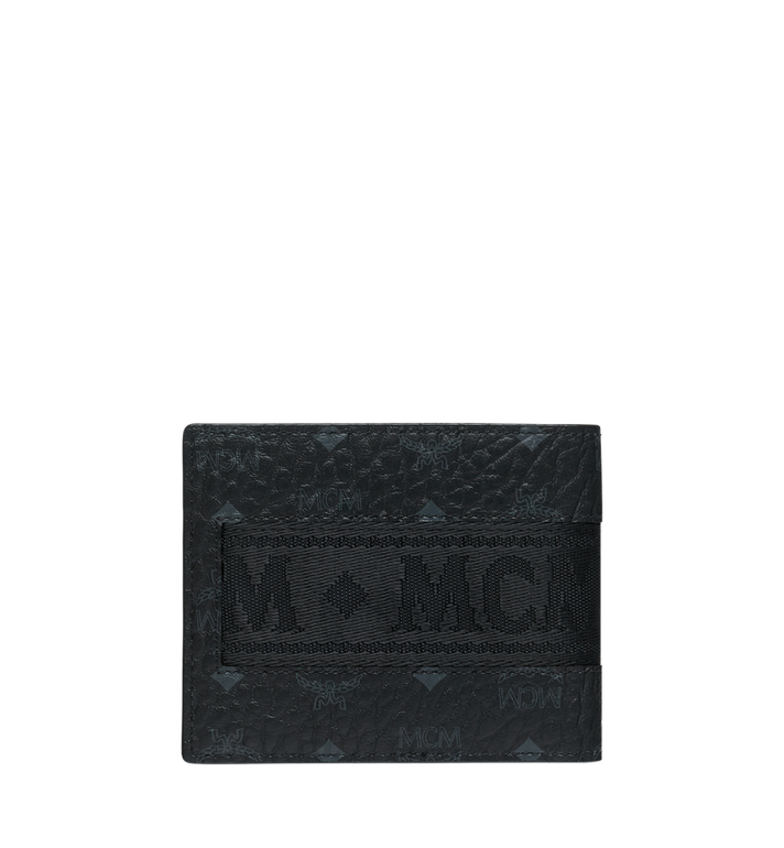 MCM Bifold with Card Case in Webbing Visetos Alternate View 3