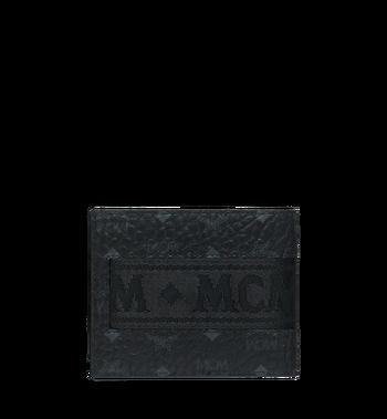 MCM Bifold with Card Case in Webbing Visetos Alternate View 3