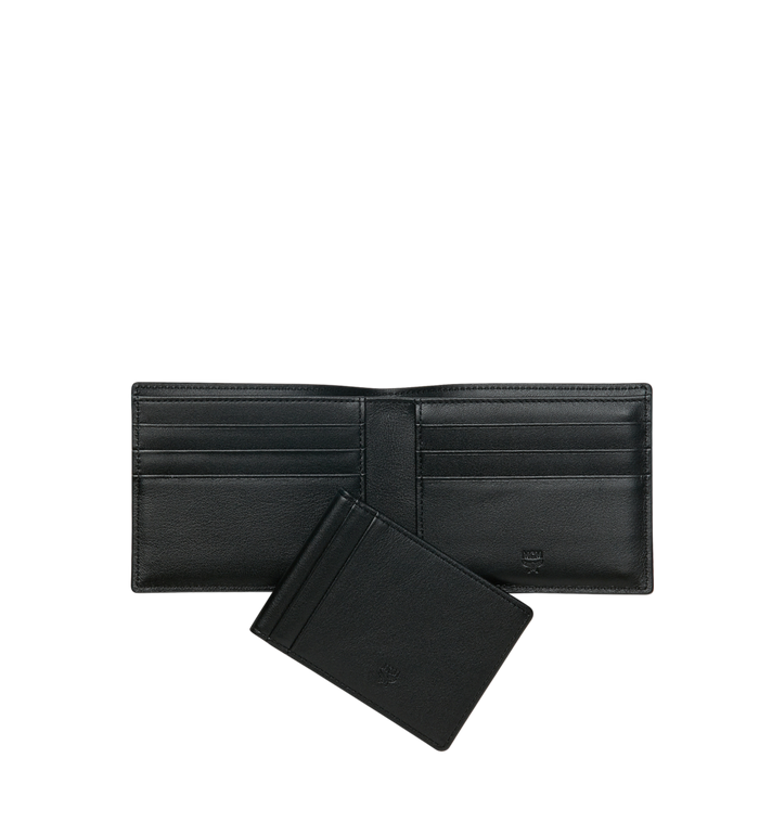 MCM Bifold with Card Case in Webbing Visetos Alternate View 5