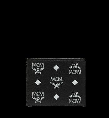 MCM Bifold Wallet in White Logo Visetos MXS9SWA07BV001 AlternateView