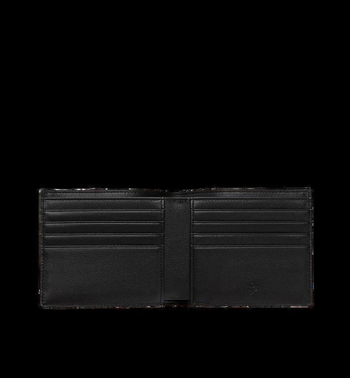 MCM Bifold Wallet in White Logo Visetos AlternateView4
