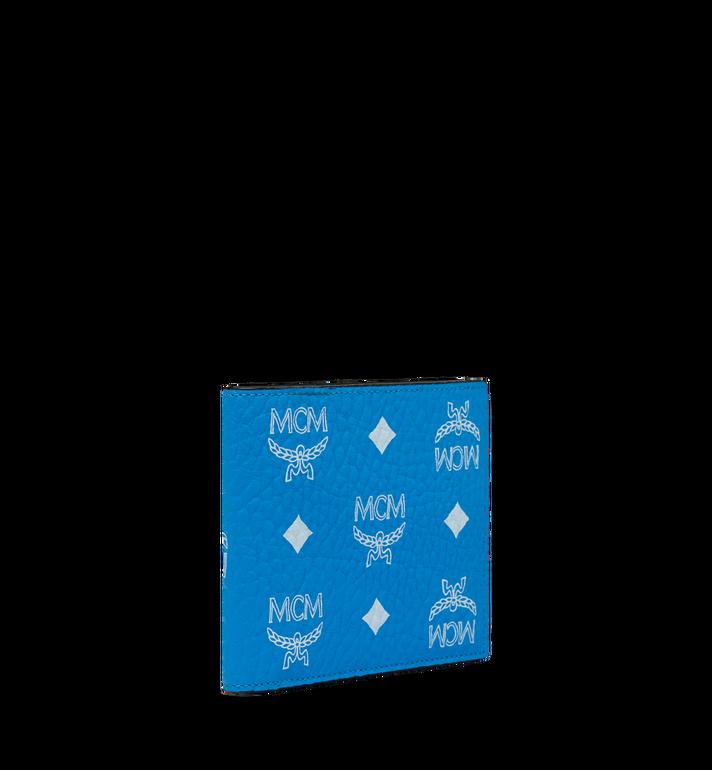 MCM Bifold Wallet in White Logo Visetos MXS9SWA07HI001 AlternateView2