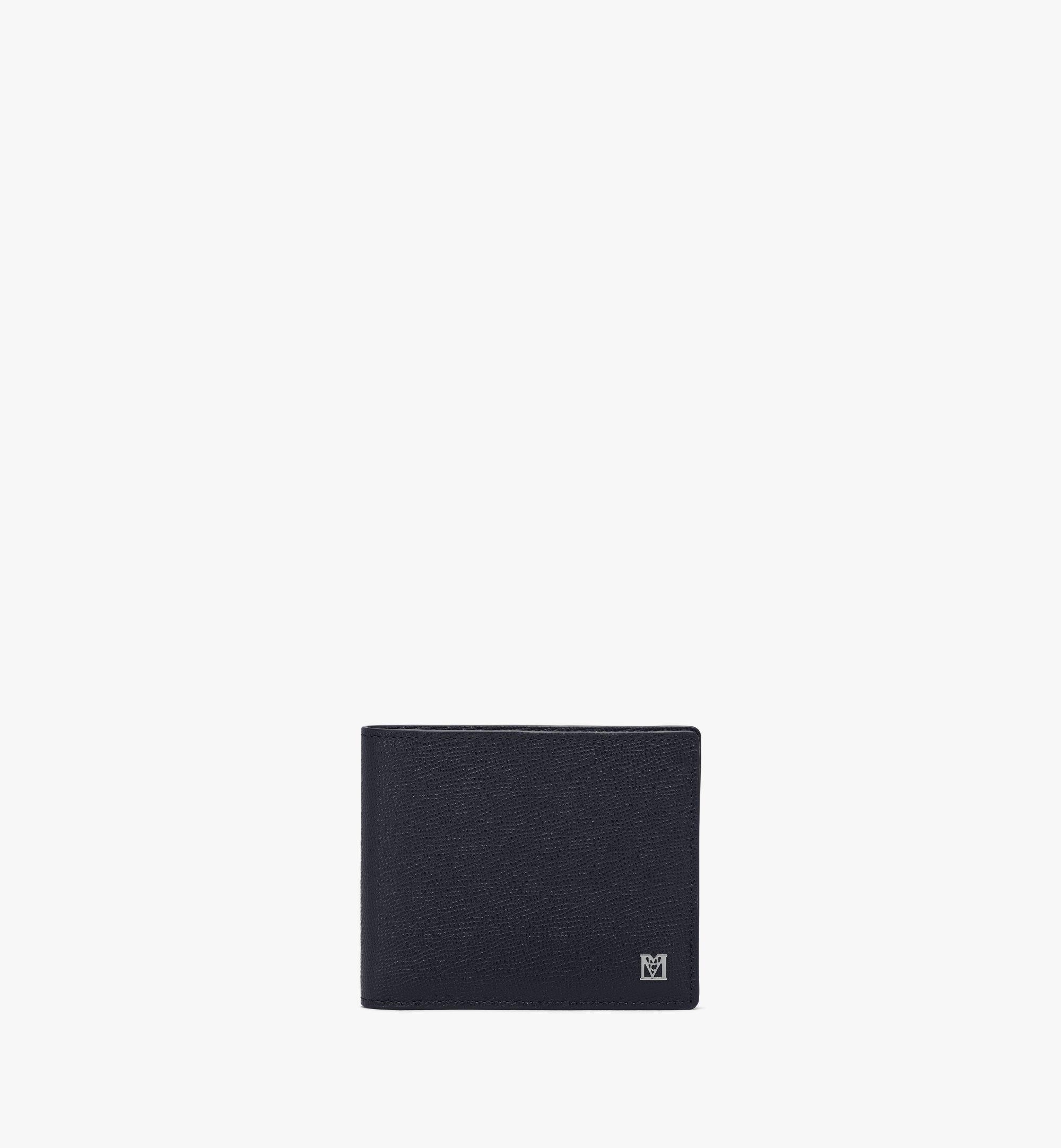 MCM Mena Bifold Wallet Black MXSAALM01BK001 Alternate View 1