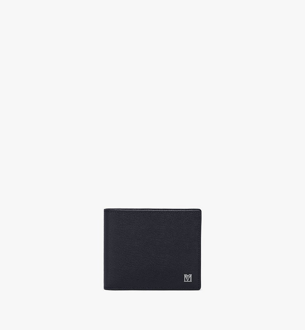 MCM Mena Bifold Wallet Black MXSAALM01BK001 Alternate View 1