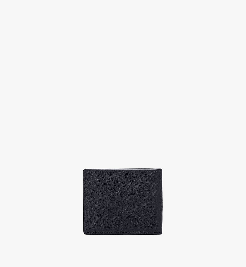 MCM Mena Bifold Wallet Black MXSAALM01BK001 Alternate View 2
