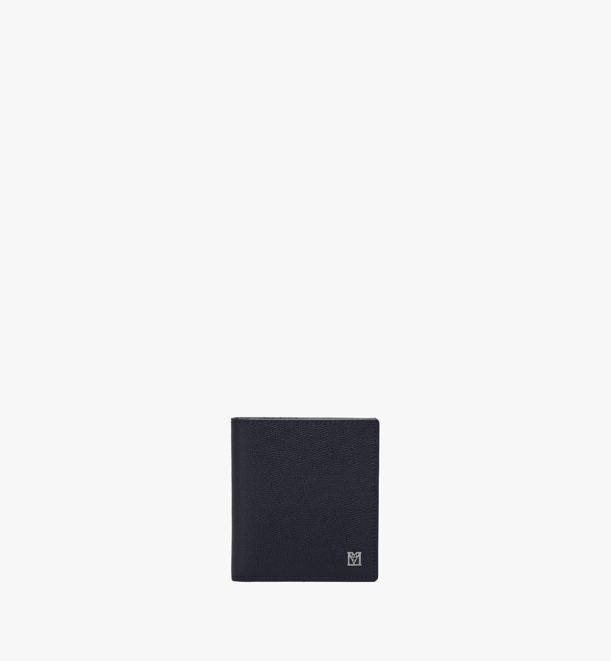 MCM Mena Bifold Card Wallet Black MXSAALM02BK001 Alternate View 1