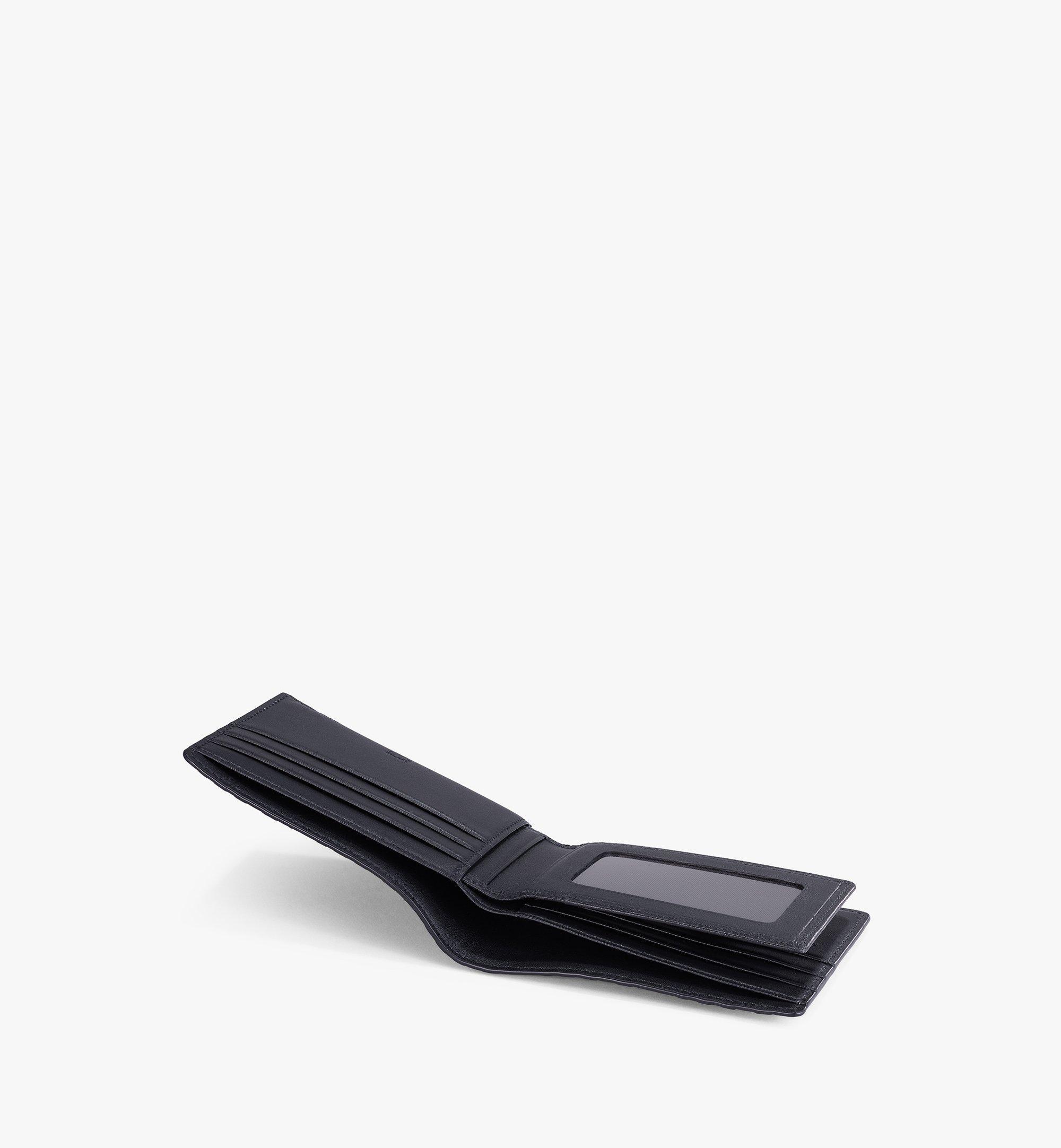 MCM Bifold Wallet in MCM Monogram Leather Black MXSAAMD01BK001 Alternate View 1