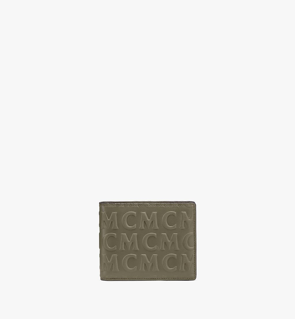 MCM Bifold Wallet in MCM Monogram Leather Black MXSAAMD01JH001 Alternate View 1