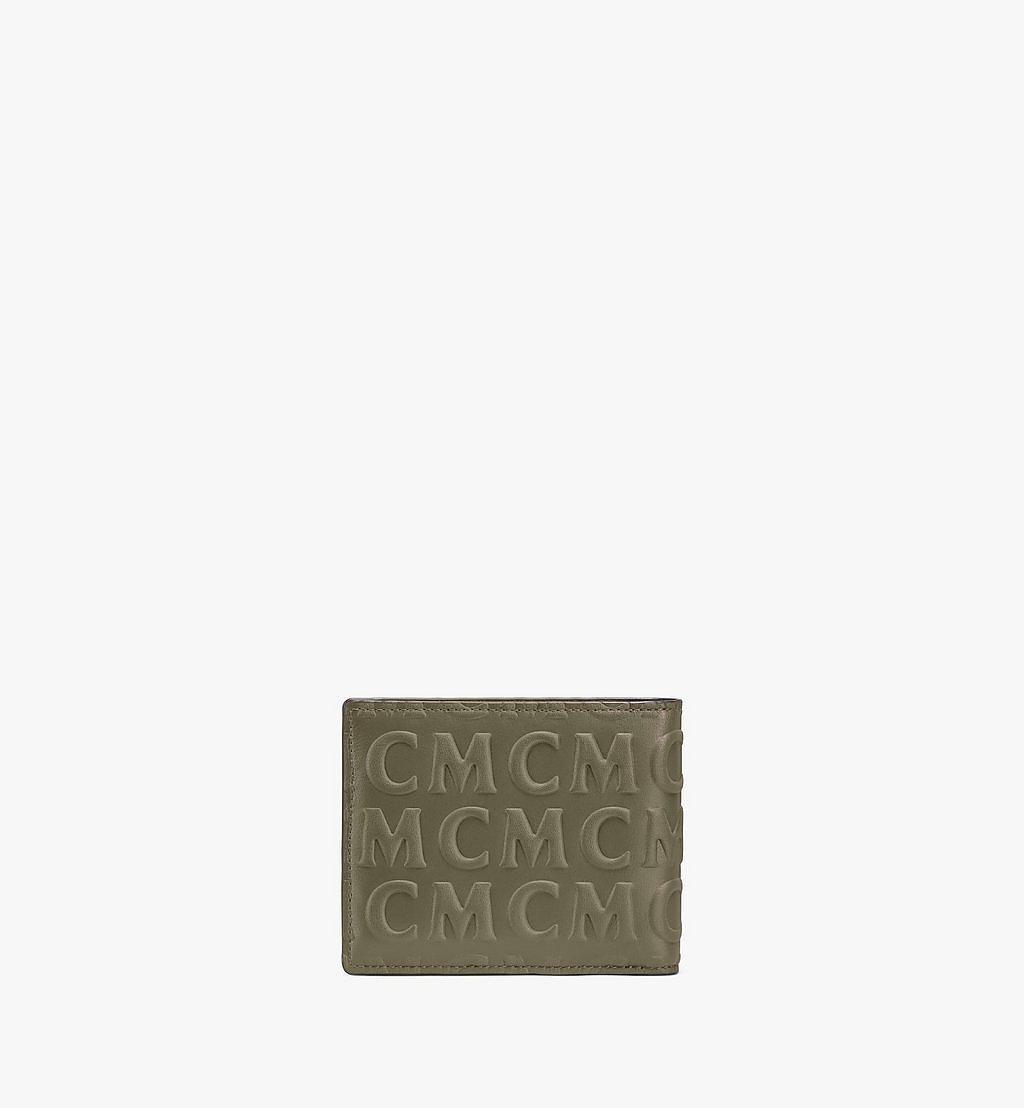 MCM Bifold Wallet in MCM Monogram Leather Black MXSAAMD01JH001 Alternate View 2