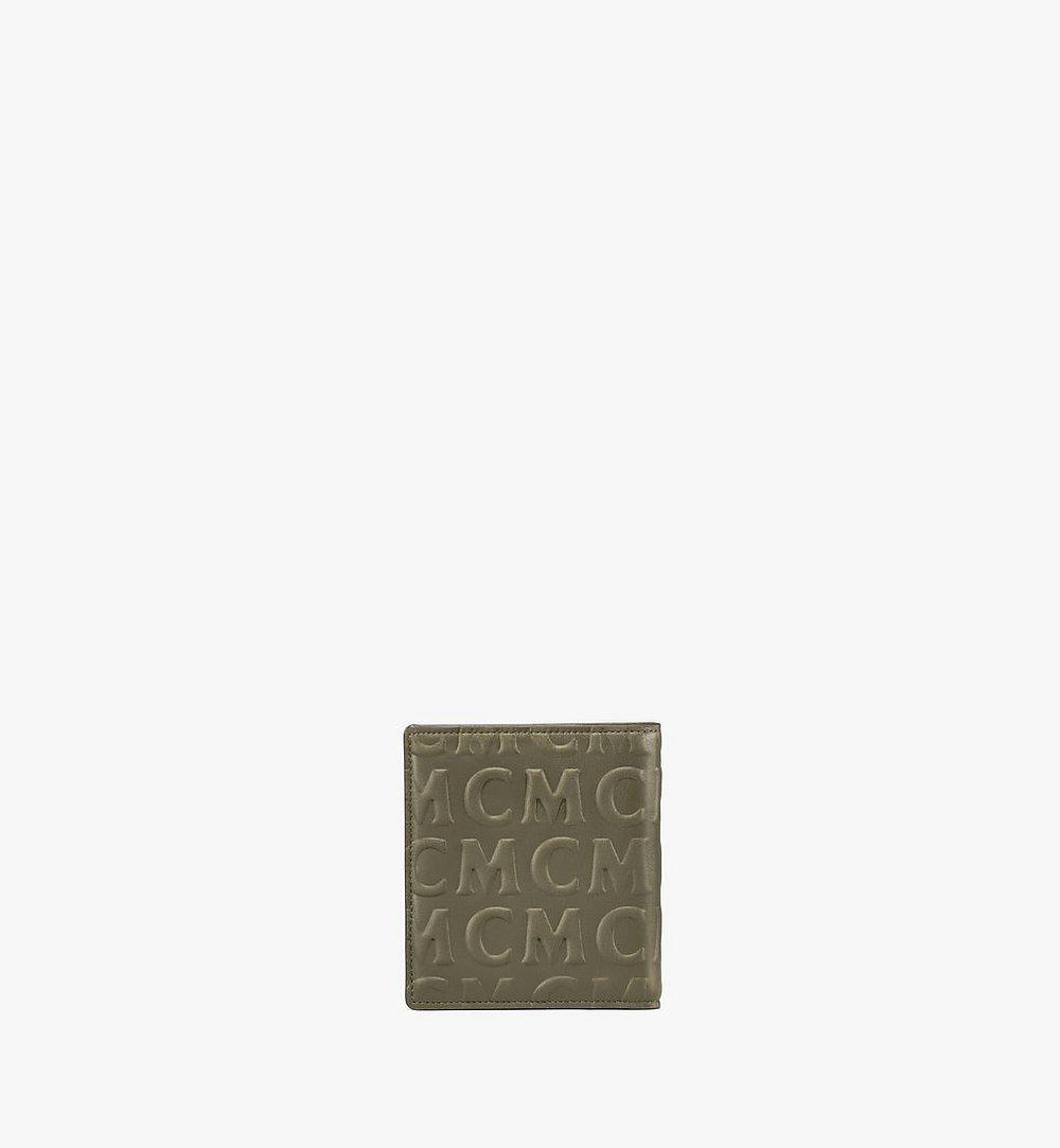 MCM Gefaltete Lederbrieftasche mit MCM-Monogramm Cognac MXSAAMD02JH001 Noch mehr sehen 2
