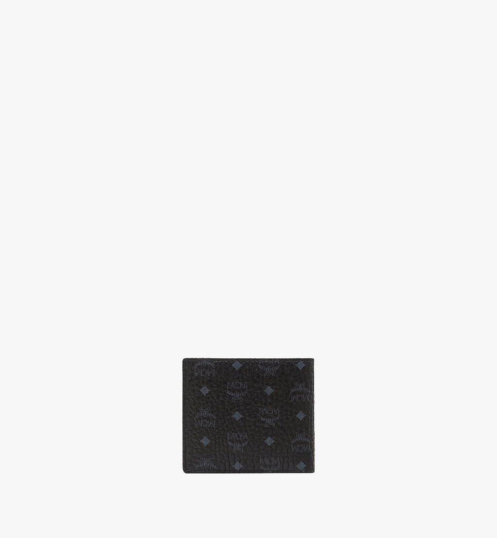 MCM Bifold Wallet w/ Coin Pocket in Visetos Original Cognac MXSAAVI01BK001 Alternate View 2