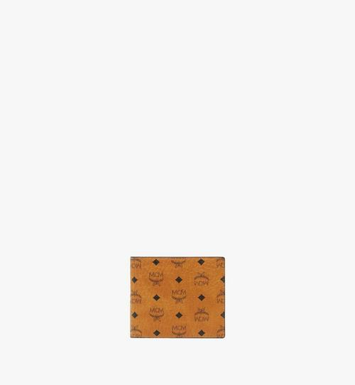 Gefaltete Brieftasche mit Münzfach in Visetos Original