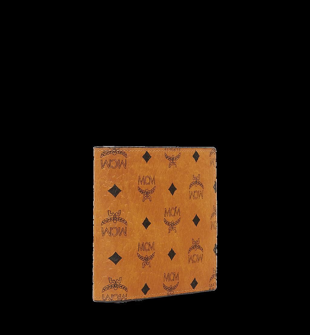 MCM Gefaltete Brieftasche mit Münzfach in Visetos Original Black MXSAAVI01CO001 Noch mehr sehen 1