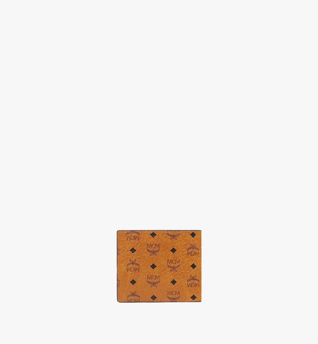 MCM Gefaltete Brieftasche mit Münzfach in Visetos Original Black MXSAAVI01CO001 Noch mehr sehen 2