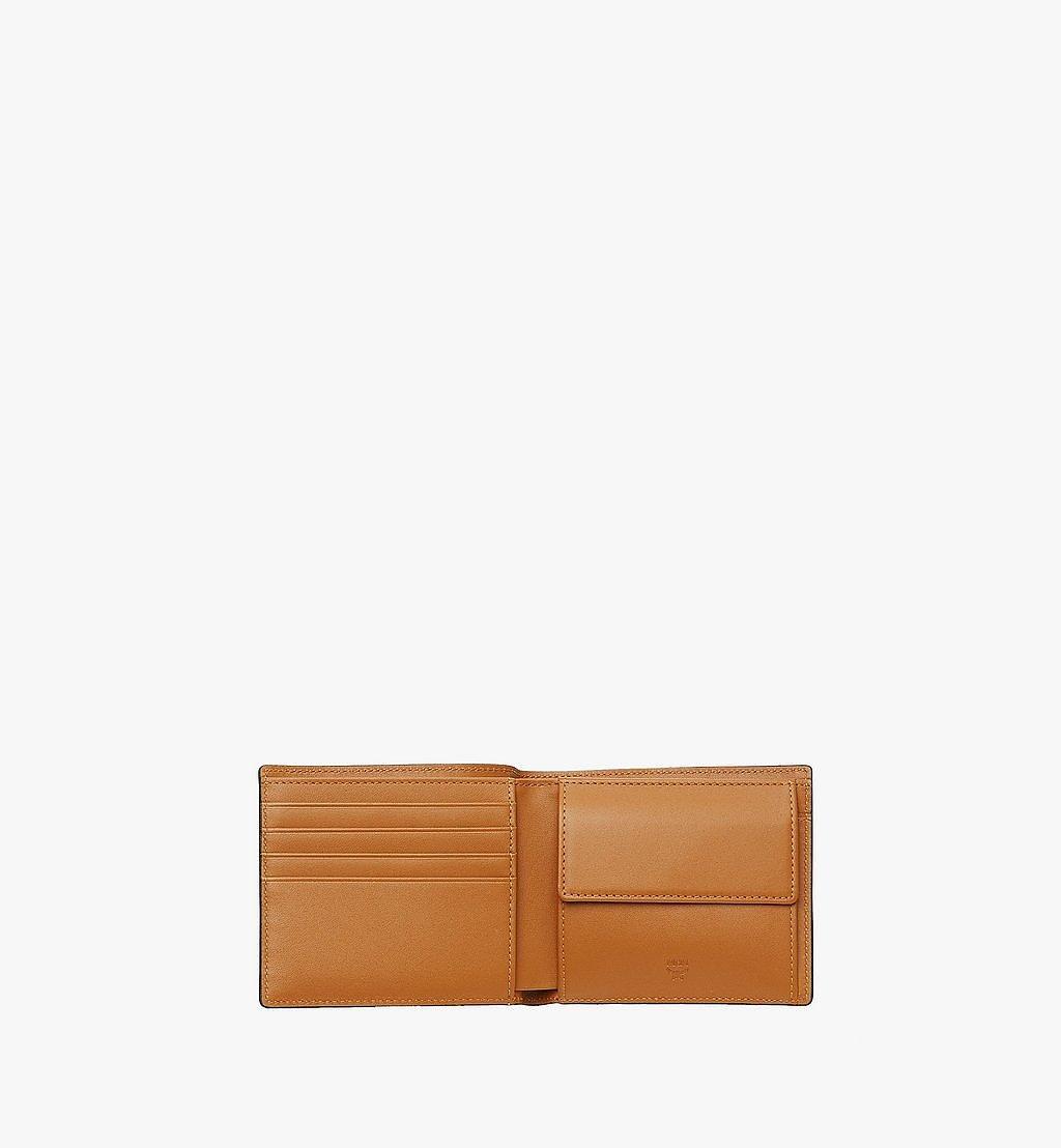 MCM Gefaltete Brieftasche mit Münzfach in Visetos Original Black MXSAAVI01CO001 Noch mehr sehen 3