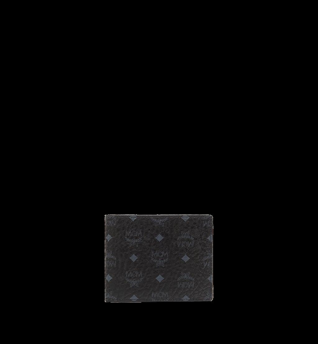 MCM Gefaltete Brieftasche mit Kartenetui in Visetos Original Black MXSAAVI02BK001 Noch mehr sehen 1