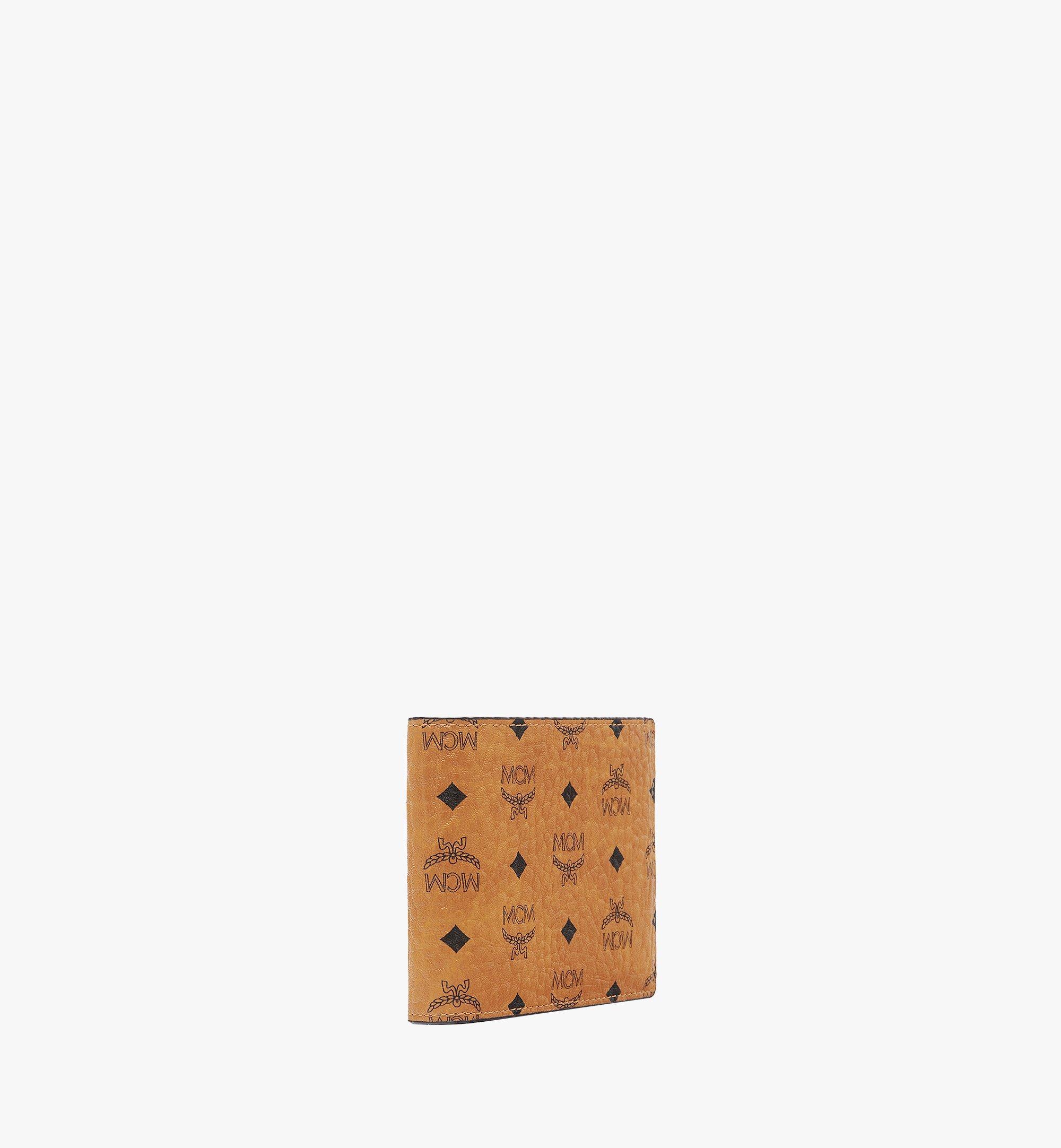 MCM Visetos Original 系列雙折卡片夾錢包 Cognac MXSAAVI02CO001 更多視圖 1