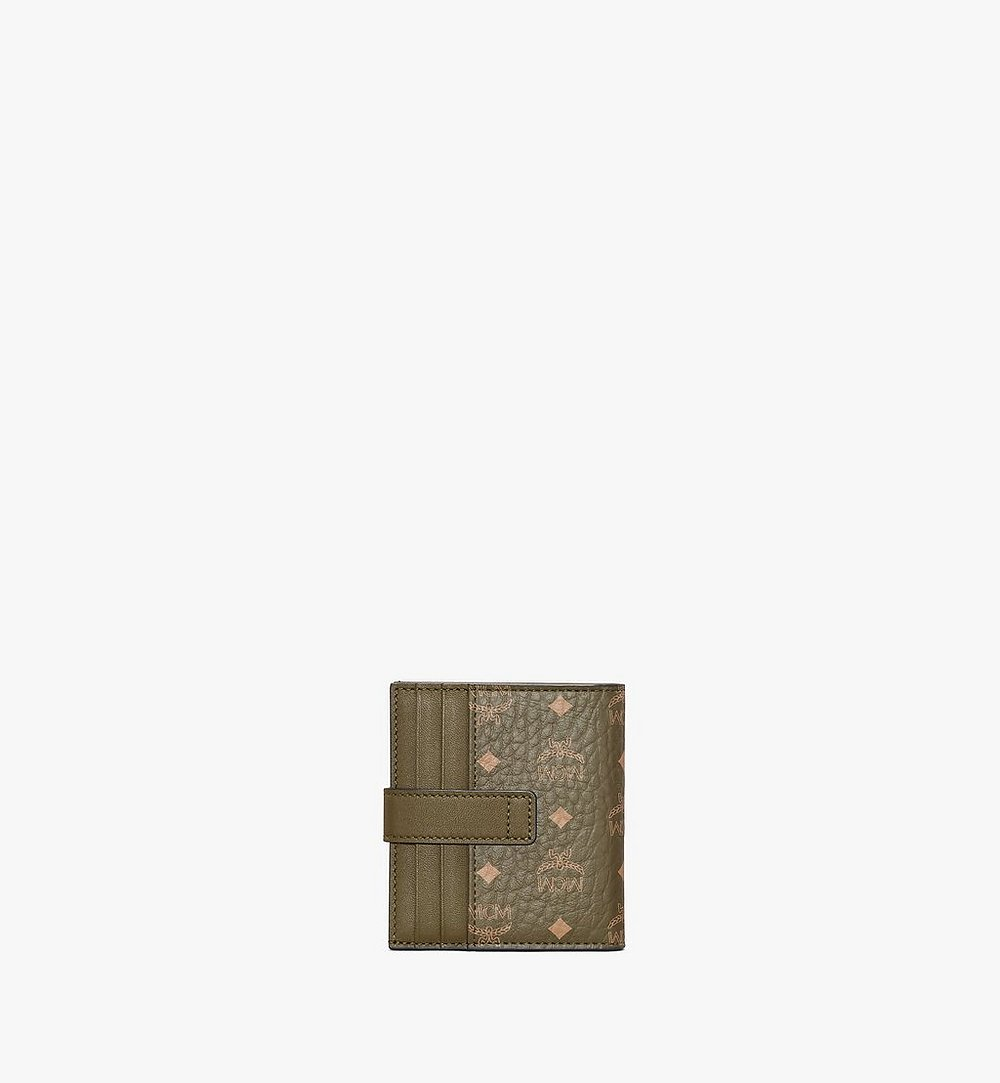 MCM Gefaltete Brieftasche für Karten in Visetos Original Green MXSAAVI05JH001 Noch mehr sehen 2