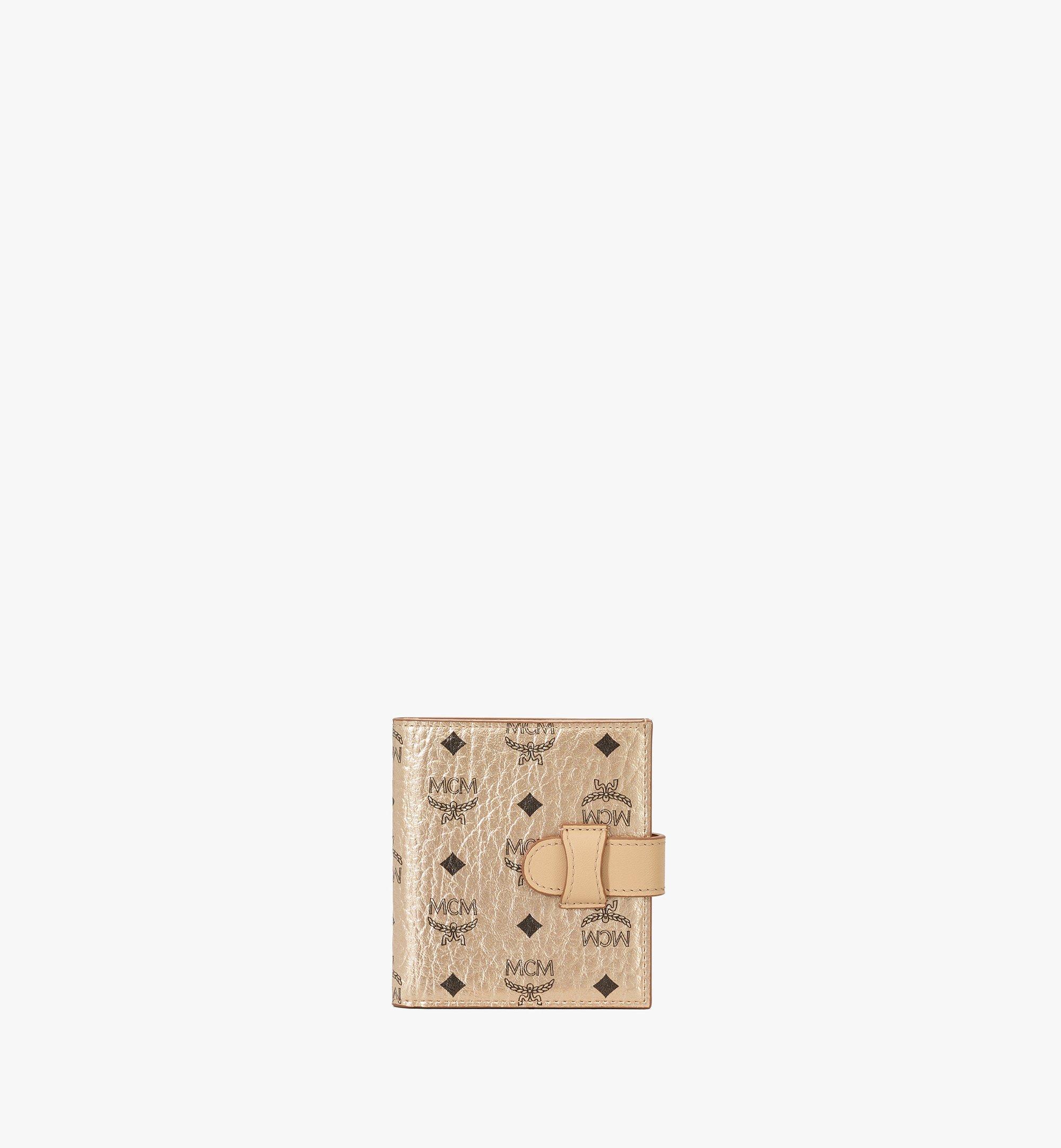 MCM Gefaltete Brieftasche für Karten in Visetos Original Gold MXSAAVI05T1001 Noch mehr sehen 1