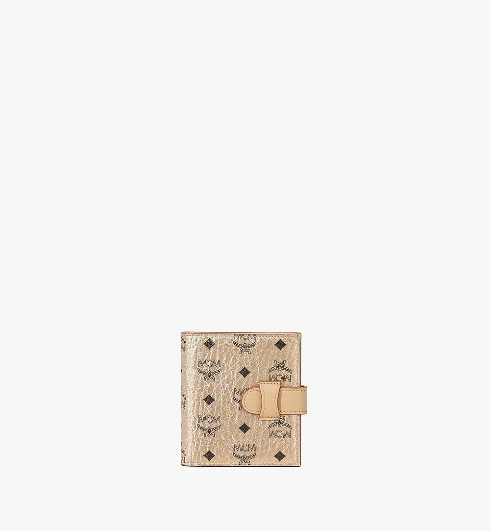 MCM 비세토스 오리지널 카드 반지갑 Gold MXSAAVI05T1001 다른 각도 보기 1