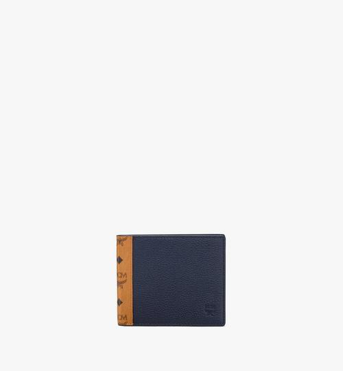 Bifold Wallet in Visetos Leather Mix
