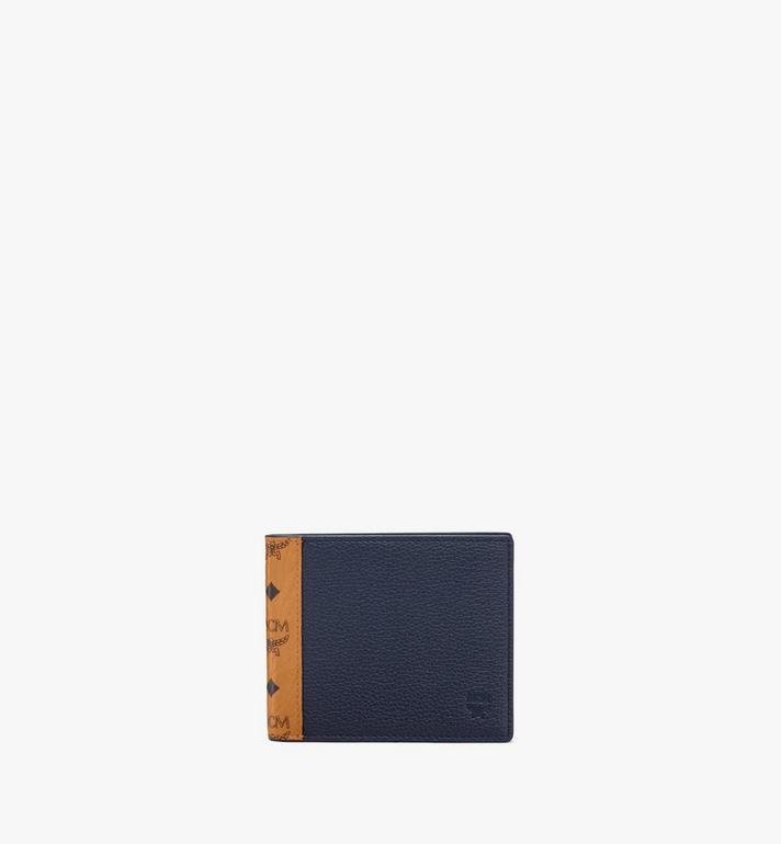 MCM Bifold Wallet in Visetos Leather Mix Alternate View