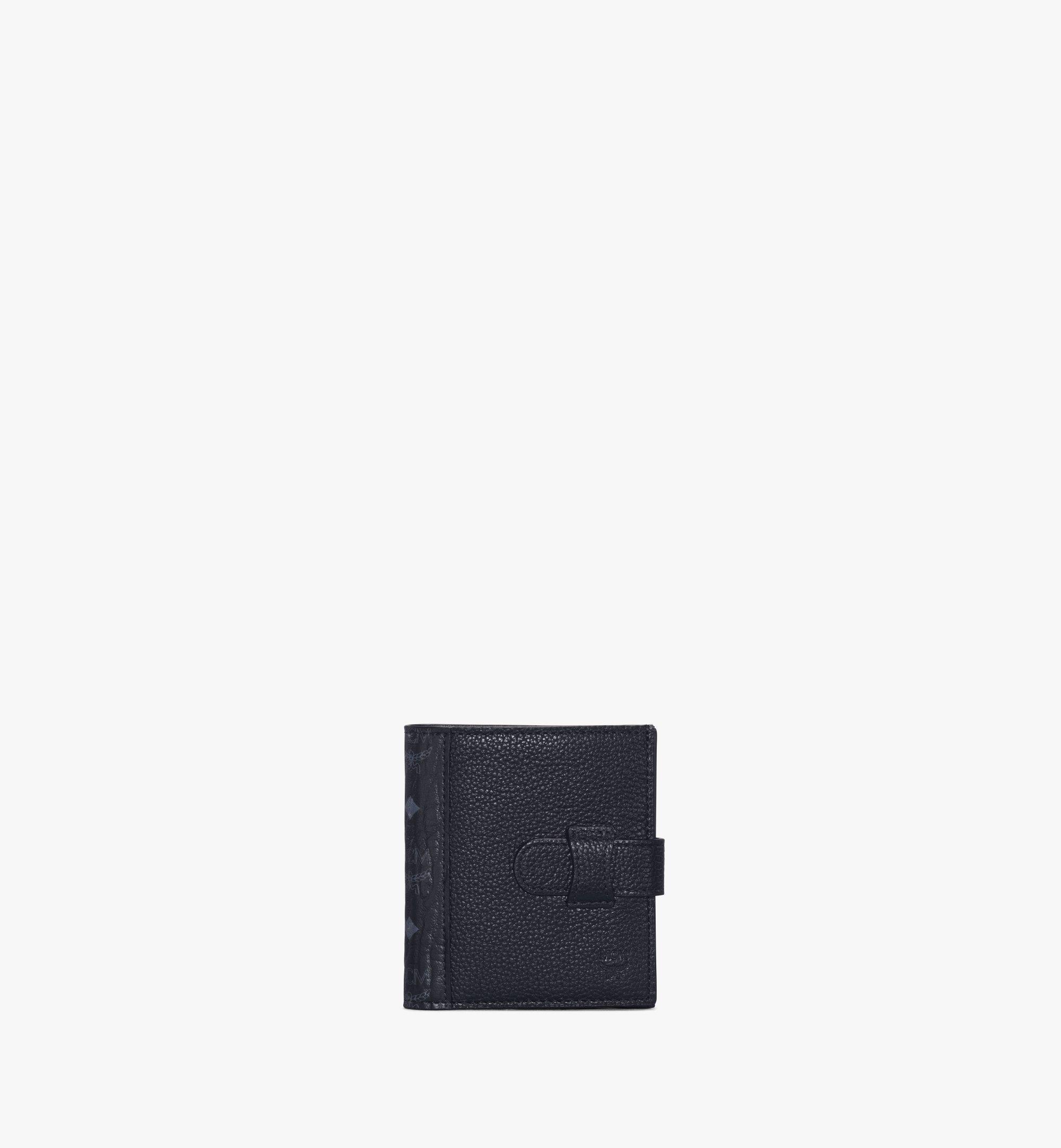 MCM 二つ折り カードウォレット - ヴィセトス レザー ミックス Black MXSAAVI08BK001 ほかの角度から見る 1
