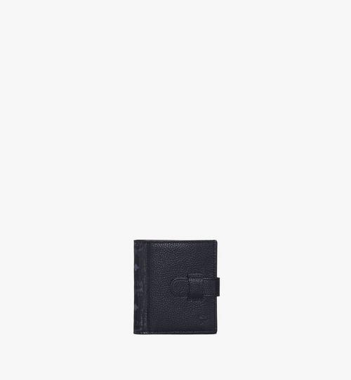 Porte-cartes à deux volets en Visetos colorblock