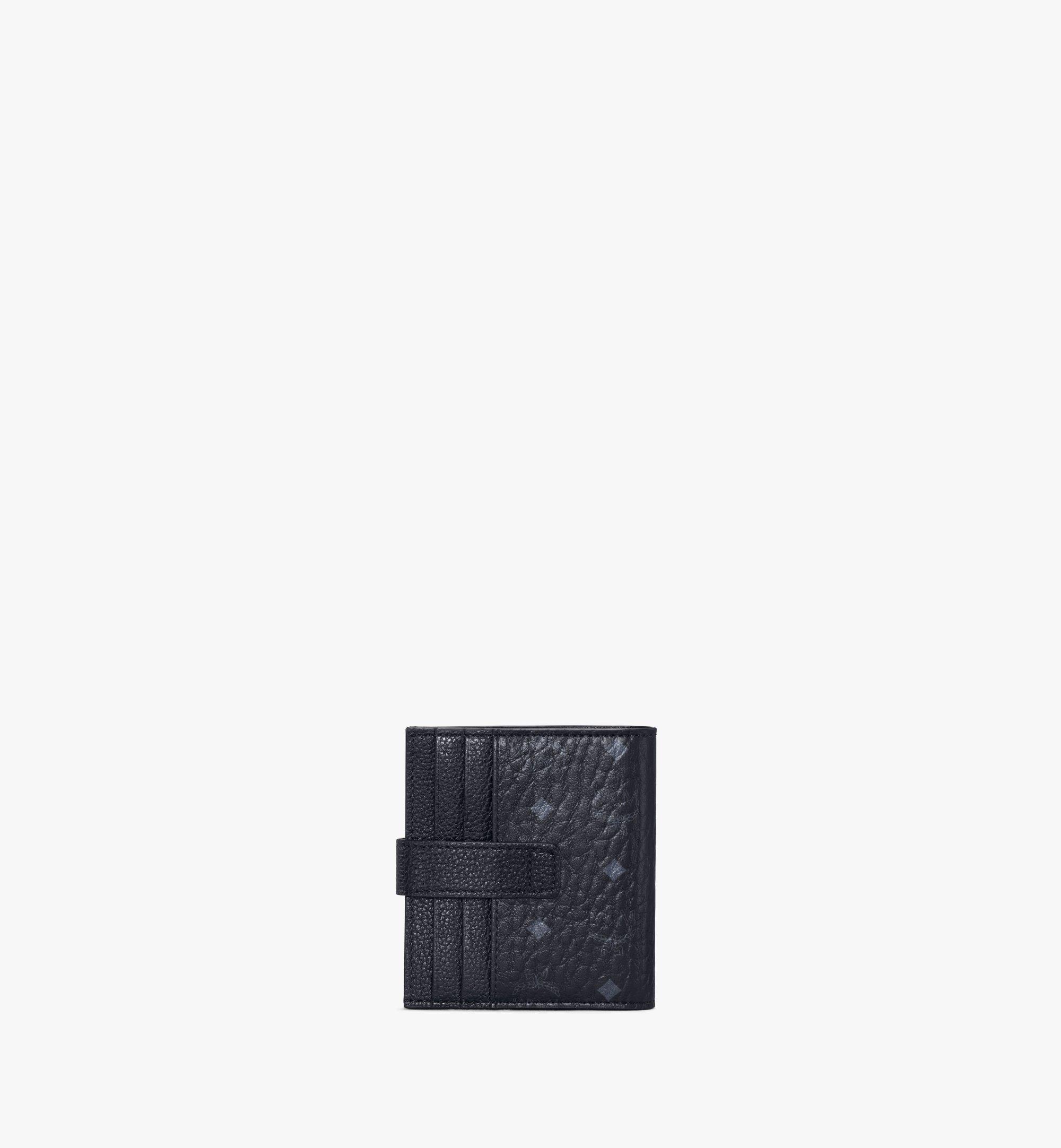 MCM 二つ折り カードウォレット - ヴィセトス レザー ミックス Black MXSAAVI08BK001 ほかの角度から見る 2