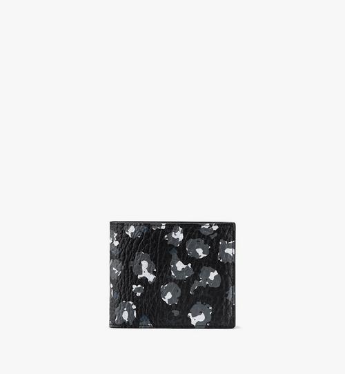 Bifold Wallet in Floral Leopard