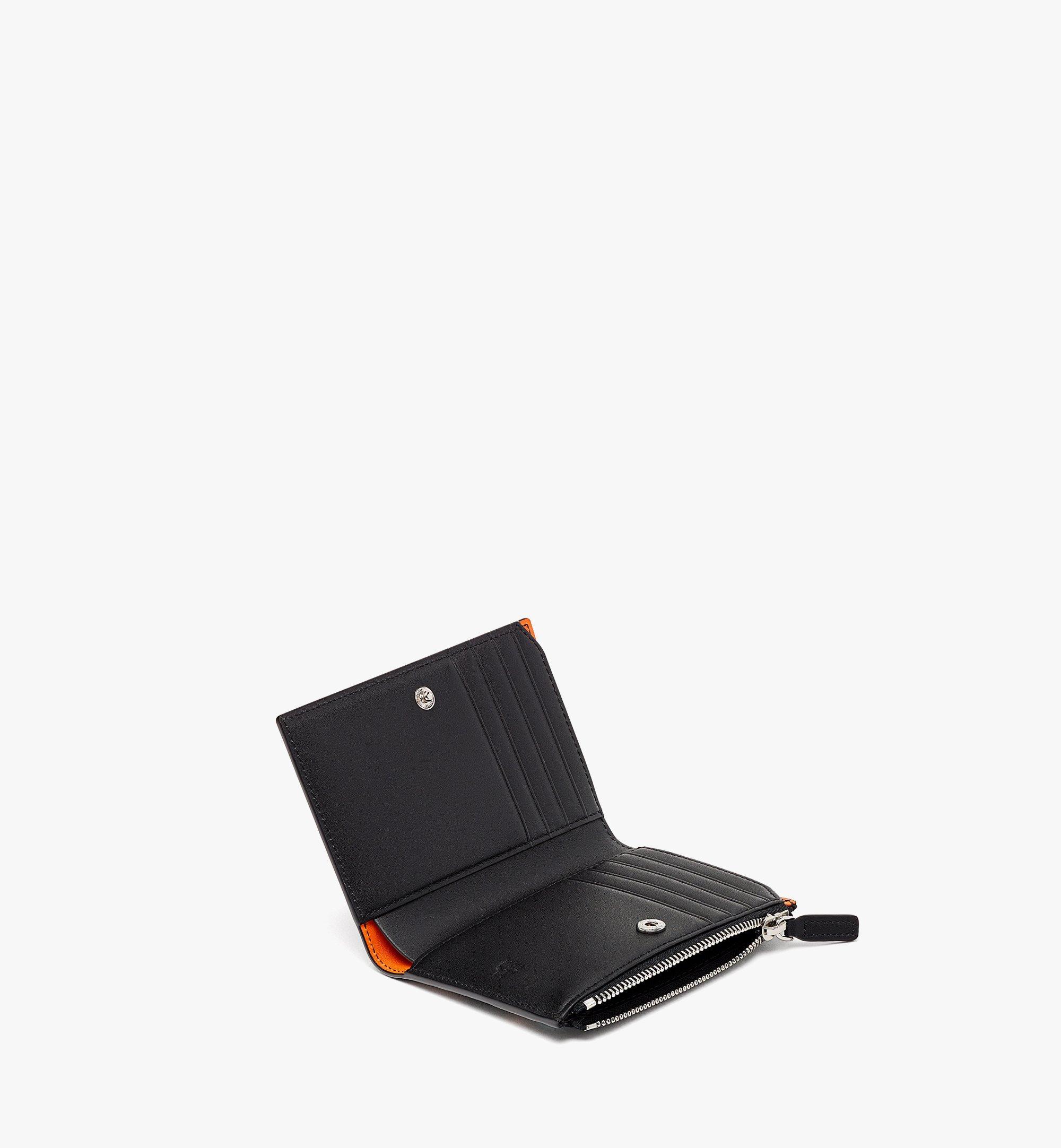 MCM 二つ折りカードウォレット - カラースプラッシュ ヴィセトス Orange MXSBASX02O9001 ほかの角度から見る 1