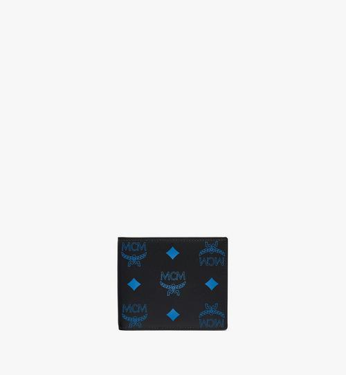 Bifold Wallet in Color Splash Logo Leather