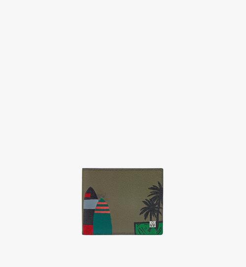 하와이 업사이클링 프로젝트 메나 2단 지갑