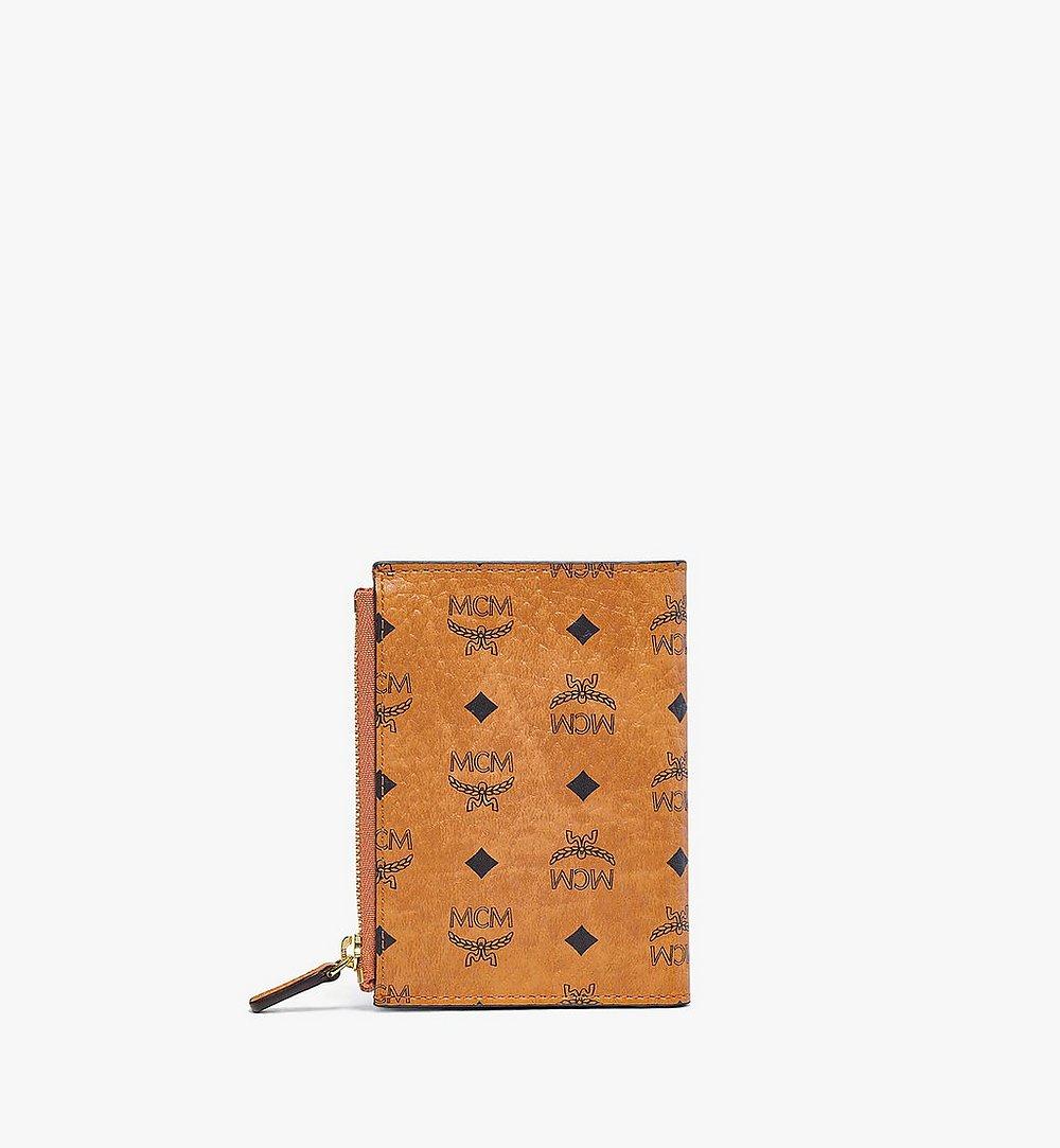 MCM Gefaltete Brieftasche für Karten in Visetos Original mit Reissverschluss  MXSBSVI01CO001 Noch mehr sehen 2