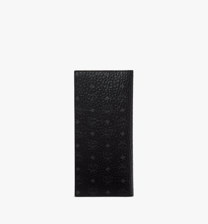 MCM Travel Wallet in Visetos Original Black MXVASVI02BK001 Alternate View 2